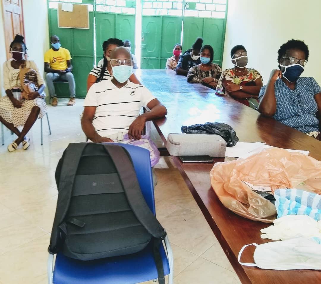Grand'Anse-COVID-19 : La Fondation Communautaire Haïtienne (FCH-Espwa) en appui aux autorités locales