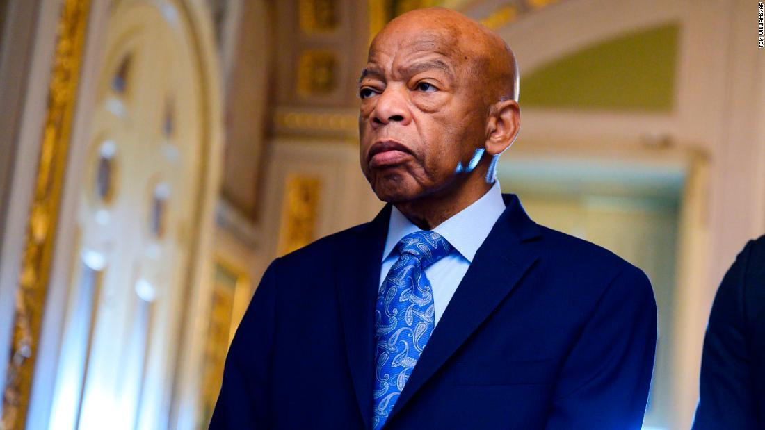 John Lewis, élu démocrate et compagnon de lutte de Martin Luther King, est décédé. Il avait 80 ans.