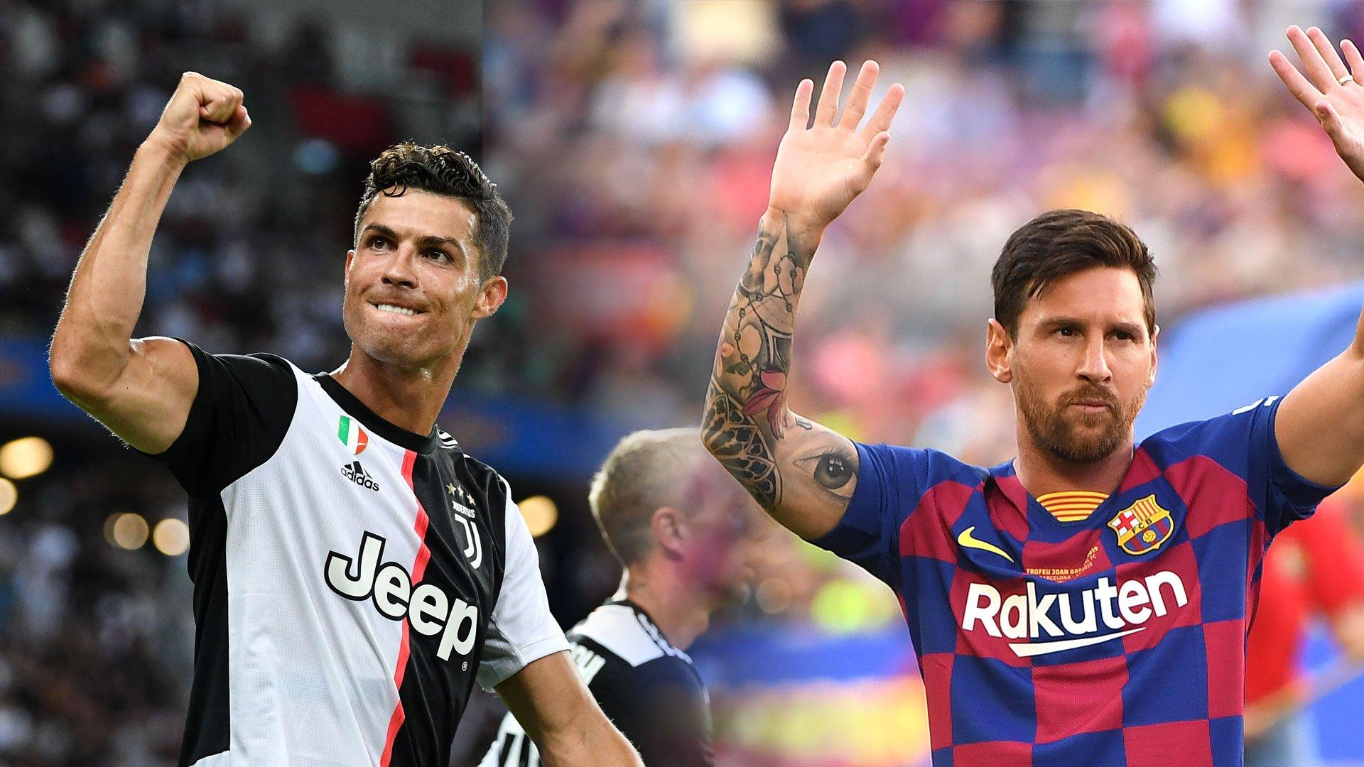 Une première pour Messi et CR7 !