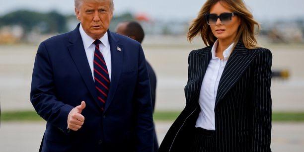 Donald Trump, testé positif au Covid-19