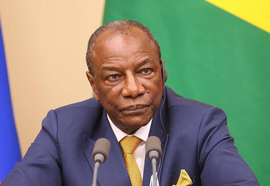Alpha Condé proclamé vainqueur de l'élection présidentielle enGuinée