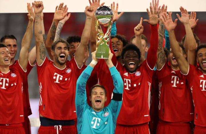 Incroyable quintuplé cette saison pour Bayern