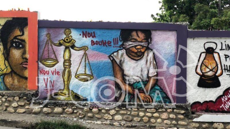 À Jérémie, le street-art rend hommage aux victimes de l'insécurité