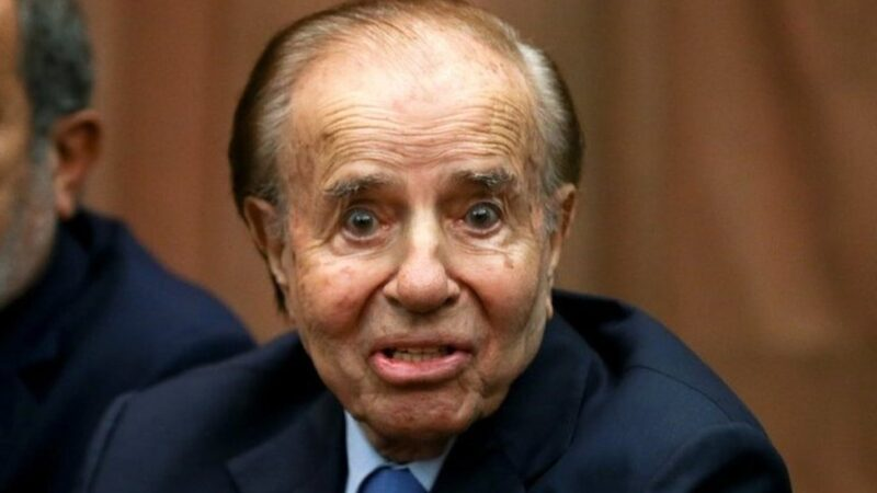 L'ancien président argentin Carlos Menem est mort