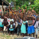 Distribution de kits scolaires à Prévilé